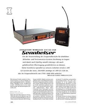 Sennheiser evolution wireless 172 G3-1G8