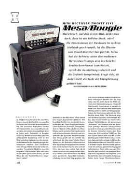 Mesa/Boogie Mini Rectifier Twenty Five, Mini-Stack