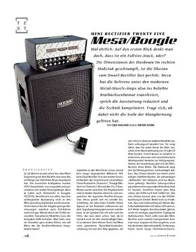 Mesa/Boogie Mini Rectifier Twenty Five, Mini-Stack