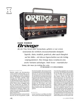 Orange Dark Terror, Tube-Head