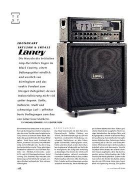 Laney Ironheart IRT120H & IRT412, Gitarren-Stack