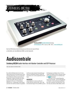 Steinberg UR 28 M: Audiointerface, Controller, DSP