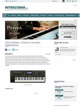 Test: Kurzweil, PC3 K6, K7, K8, Music Workstation