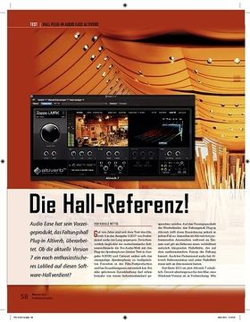 Audio Ease Altiverb Die Hall-Referenz!