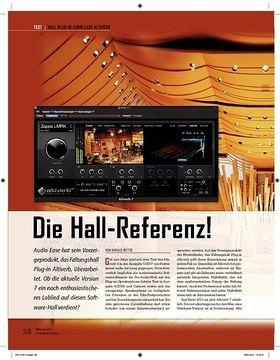 Audio Ease Altiverb Die Hall-Referenz!