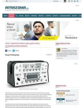 Test: Kemper Profiling Amplifier, Gitarrenverstärker