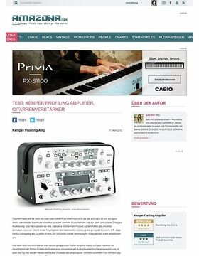 Test: Kemper Profiling Amplifier, Gitarrenverstärker