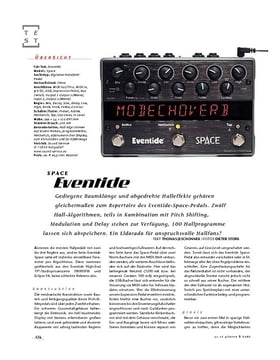 Eventide Space, FX-Pedal