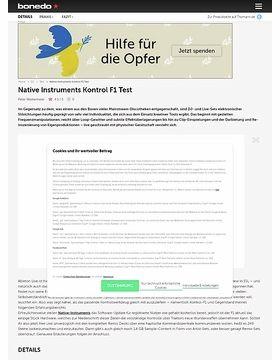 Native Instruments Kontrol F1