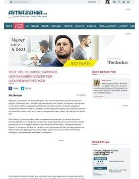 Test: SPL, Reducer, Passiver Leistungsbegrenzer für Gitarrenverstärker