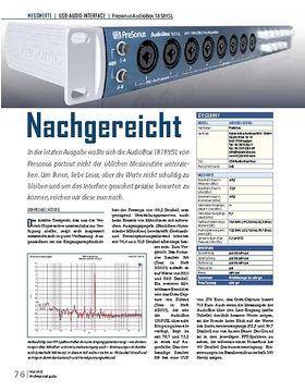Presonus AudioBox 1818VSL Nachgereicht