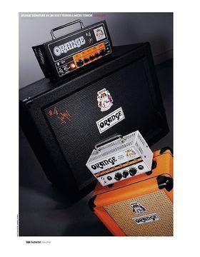 Orange Signature #4 Jim Root Terror