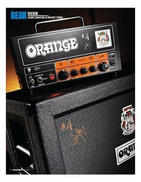 ORANGE SIGNATURE #4 JIM ROOT TERROR