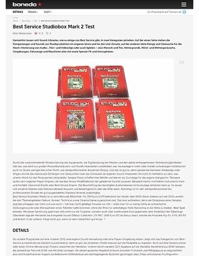 Best Service Studiobox Mark 2