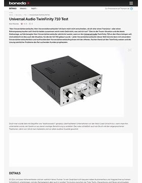 Universal Audio TwinFinity 710