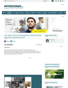 Top News: Native Instruments kündigt neue MASCHINE-Generation an