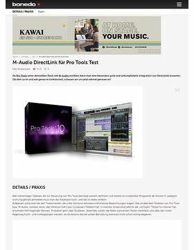 M-Audio DirectLink für Pro Tools