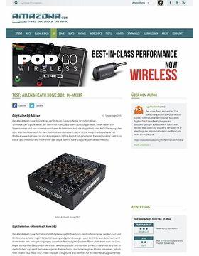 Test: Allen & Heath, Xone DB2, DJ Mixer
