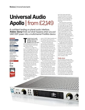 Universal Audio Apollo