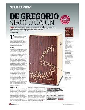 De Gregorio Siroco Cajon