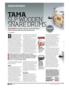 Tama SLP Wooden Snare Drums