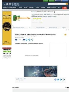 Fender [Artist Signature Series] Richie Kotzen Telecaster - Surf Green