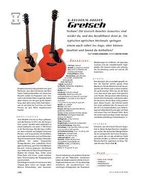Gretsch G-5013CE/G-5022CE, A-Gitarren