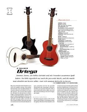 Ortega D-Walker, Akustik-Bass