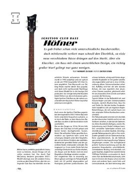 Höfner Ignition Club Bass
