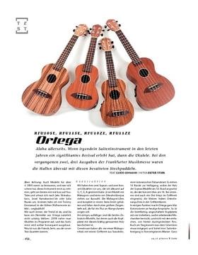 Ortega RFU10SE, RFU11SE, RFU10ZE, RFU11ZE, Ukulelen