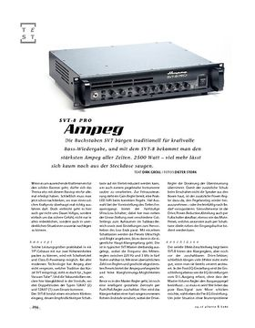 Ampeg SVT-8 Pro, Topteil