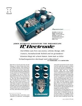 TC John Petrucci Signature The Dreamscape, Signature-FX