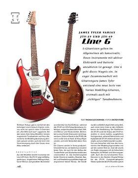 Line 6 James Tyler Variax JTV-59 und JTV-69, E-Gitarren