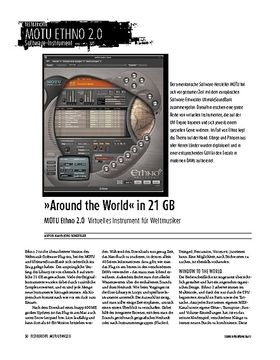 MOTU Ethno 2.0: Software-Instrument für Mac & PC