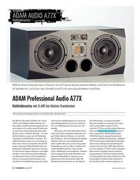 ADAM Professional Audio A77X