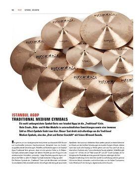 Istanbul Agop Traditional Medium Cymbals