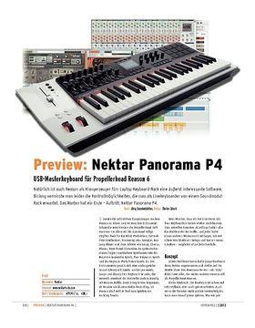 Preview: Nektar Panorama P4