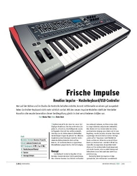 Novation Impulse – Masterkeyboard/USB-Controller