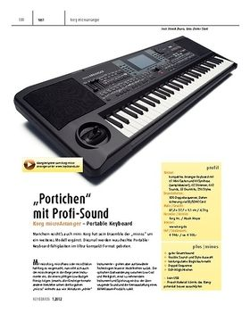 Korg microArranger – Portable Keyboard
