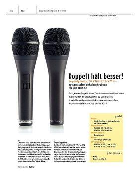 Beyerdynamic TG V70d & TG V71d – Dynamische Vokalmikrofone für die Bühne