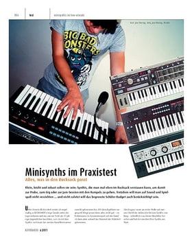 Minisynths – Korg MicroKorg-Serie und R3 im Praxistest
