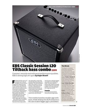 EBS Classic Session 120 Tiltback bass combo Classic Session 120 Tiltback bass combo