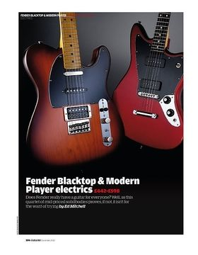 Fender Modern Player Telecaster Plus