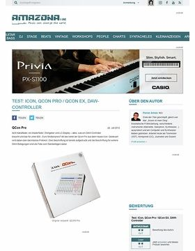 Test: ICon, QCon Pro / QCon EX, DAW-Controller