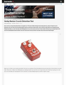 Harley Benton Crunch Distortion