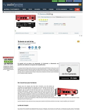 TC Electronic [BH Amps Series] BH250