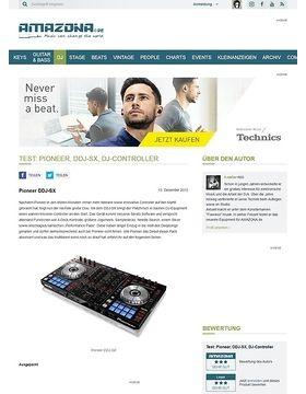 Test: Pioneer, DDJ-SX, DJ-Controller