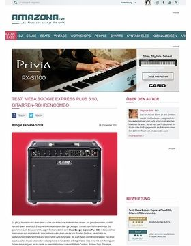 Test: Mesa Boogie, Express Plus 5:50, Gitarren-Röhrencombo