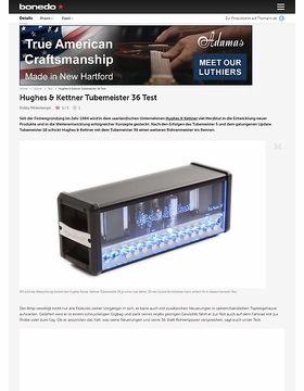 Hughes & Kettner Tubemeister 36 Test