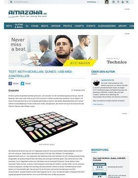 Test: Keith McMillan, QuNeo, USB-MIDI-Controller